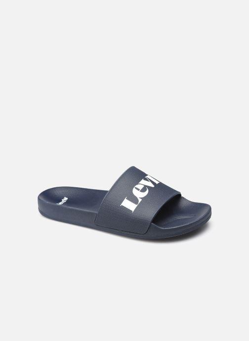 Sandales et nu-pieds Levi's June Mono Bleu vue détail/paire