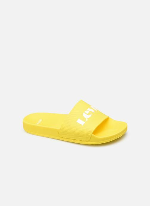 Clogs & Pantoletten Levi's June Mono S gelb detaillierte ansicht/modell