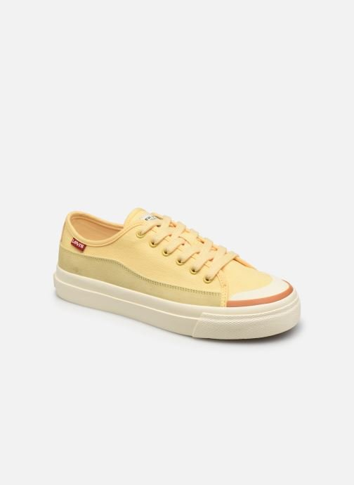Sneakers Levi's Square Low S Geel detail