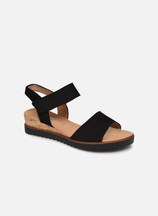 Sandales et nu-pieds Gabor NOUR 2.0 Noir vue détail/paire