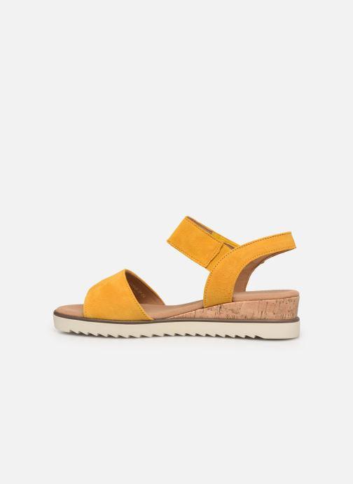 Sandales et nu-pieds Gabor NOUR 2.0 Jaune vue face