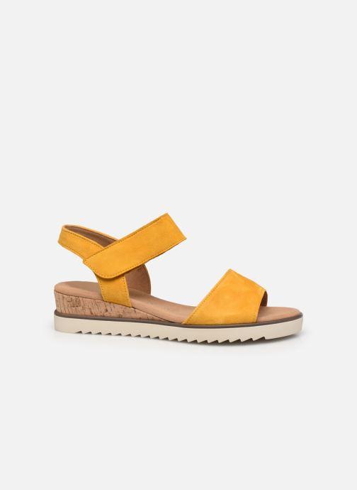 Sandales et nu-pieds Gabor NOUR 2.0 Jaune vue derrière