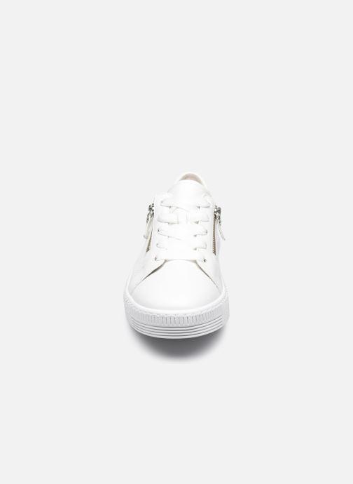 Baskets Gabor Jules Blanc vue portées chaussures