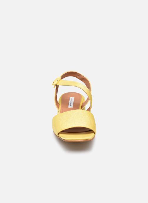 Sandalen About Arianne Selva gelb schuhe getragen