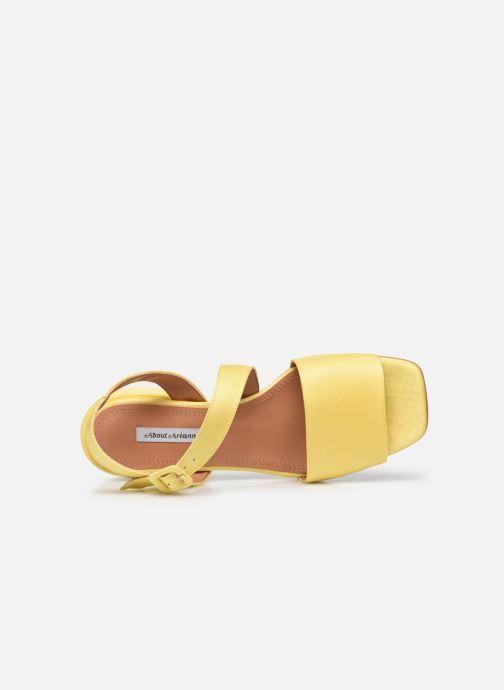 Sandalen About Arianne Selva gelb ansicht von links