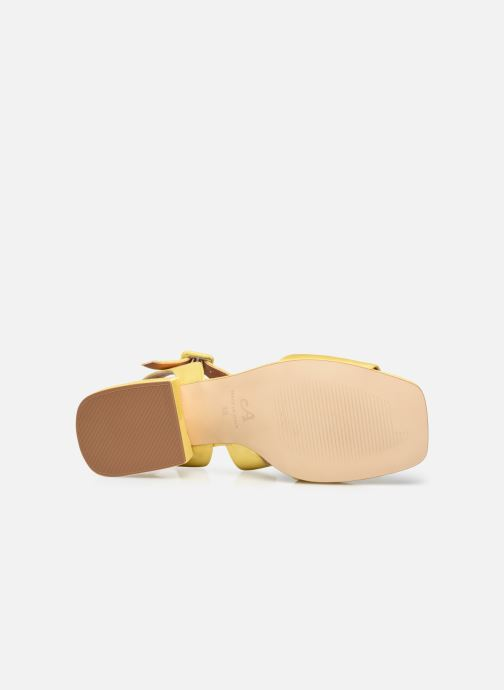 Sandalen About Arianne Selva gelb ansicht von oben