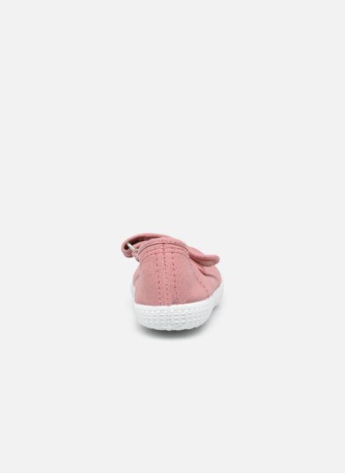 Sneaker Rose et Martin BELLA rosa ansicht von rechts