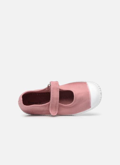Sneaker Rose et Martin BELLA rosa ansicht von links