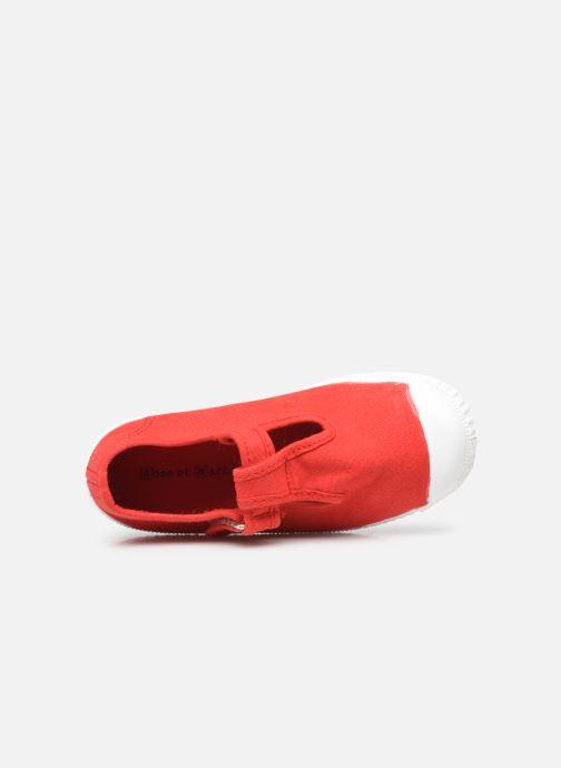 Sneaker Rose et Martin BOCHARLIE rot ansicht von links