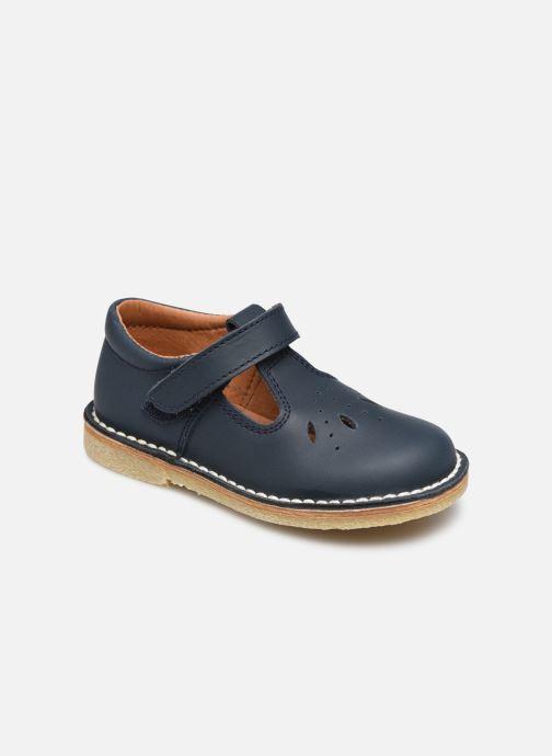 Sandales et nu-pieds Rose et Martin BOSACHA LEATHER Bleu vue détail/paire