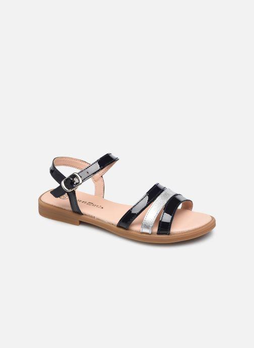 Sandales et nu-pieds Rose et Martin BERENICE LEATHER Multicolore vue détail/paire