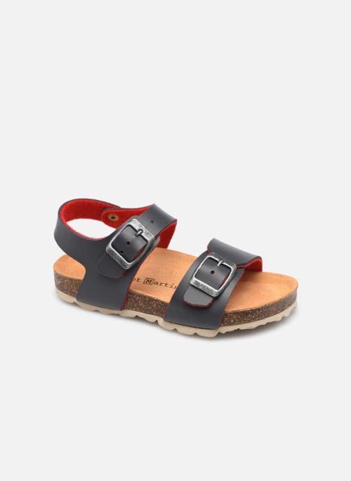 Sandales et nu-pieds Rose et Martin BOLENZO LEATHER Bleu vue détail/paire