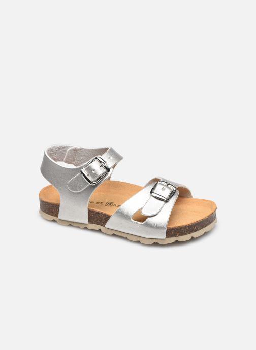 Sandales et nu-pieds Rose et Martin BALICIA LEATHER Argent vue détail/paire