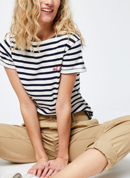 Kleding Maison Labiche Sailor Shirt F Blauw detail