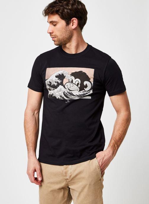 Kleding Accessoires Mens Slim Fit Tshirt Ocean Monkey