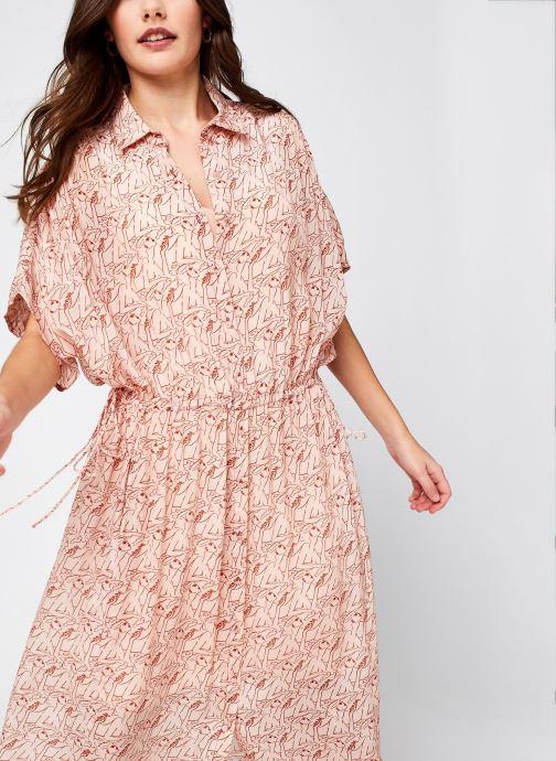Vêtements Swildens Dalhia Rose vue détail/paire