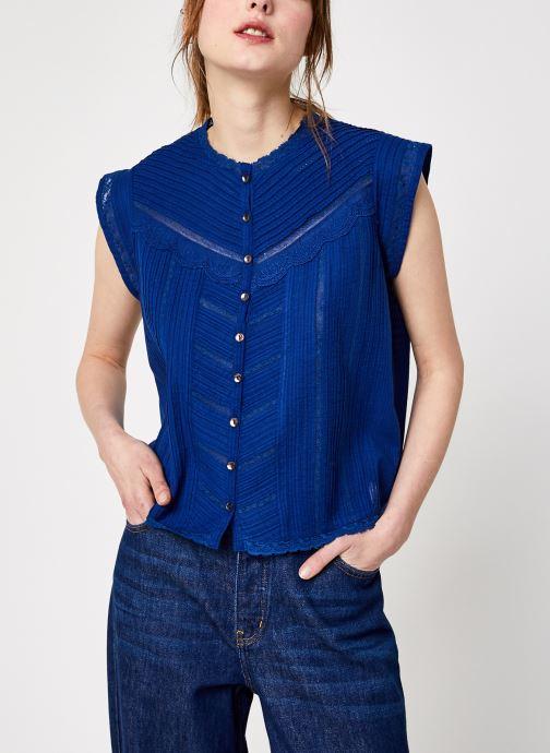 Vêtements Swildens Dili Bleu vue détail/paire