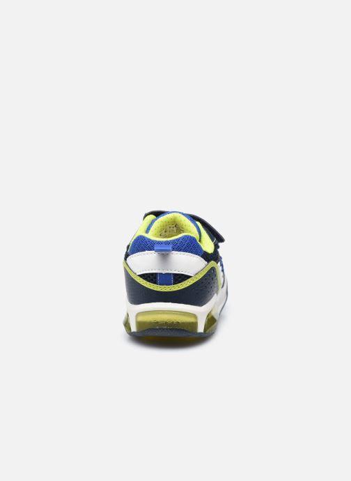 Baskets Geox J Inek Boy J159CB Bleu vue droite