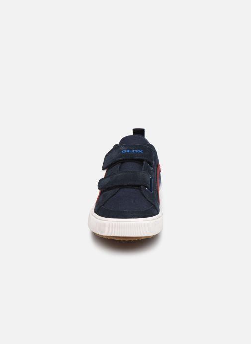 Sneaker Geox J Alonisso Boy J152CA blau schuhe getragen