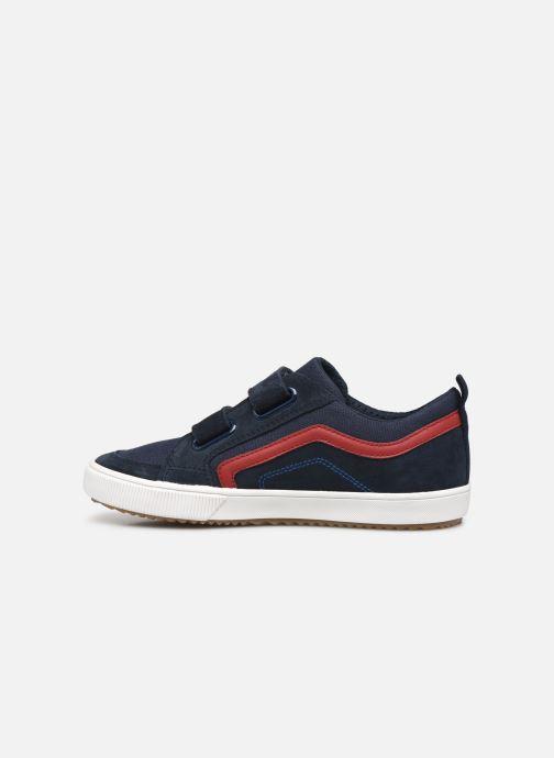 Sneaker Geox J Alonisso Boy J152CA blau ansicht von vorne