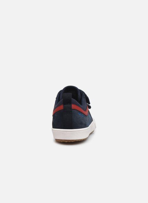 Sneaker Geox J Alonisso Boy J152CA blau ansicht von rechts