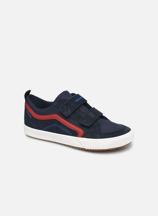 Sneaker Geox J Alonisso Boy J152CA blau detaillierte ansicht/modell