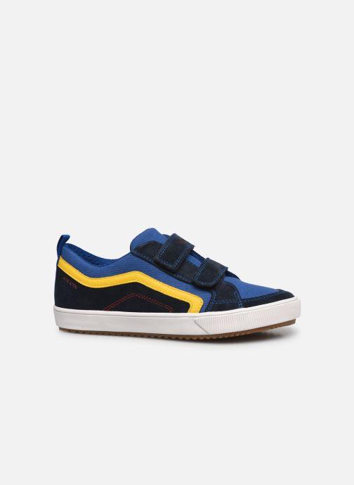 Sneaker Geox J Alonisso Boy J152CA blau ansicht von hinten