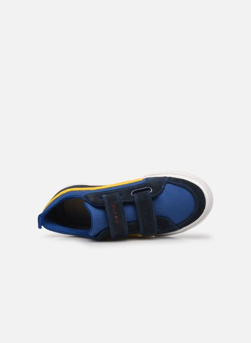 Sneaker Geox J Alonisso Boy J152CA blau ansicht von links