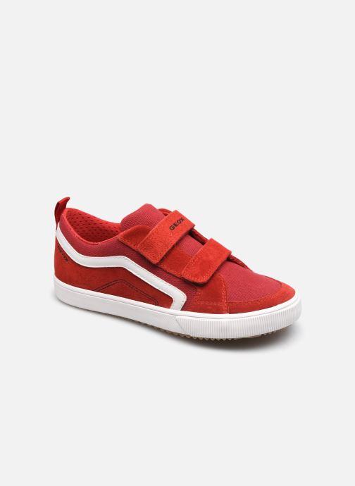Sneakers Geox J Alonisso Boy J152CA Rood detail