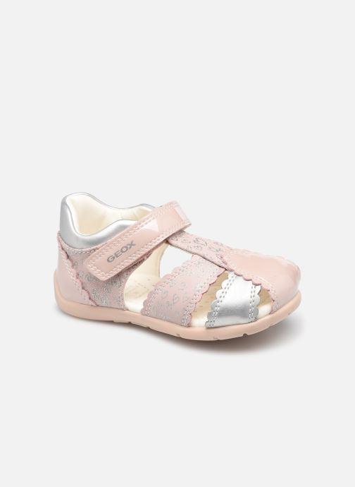 Sandales et nu-pieds Geox B Elthan Girl B151QC Rose vue détail/paire