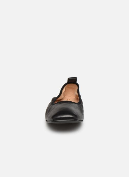 Ballerinas Clarks Pure Ballet schwarz schuhe getragen