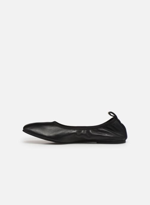 Ballerinas Clarks Pure Ballet schwarz ansicht von vorne