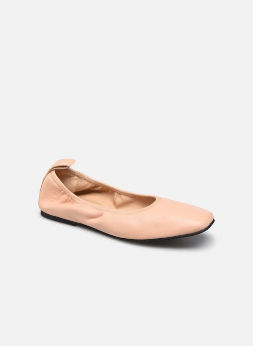 Ballerina's Clarks Pure Ballet Roze detail