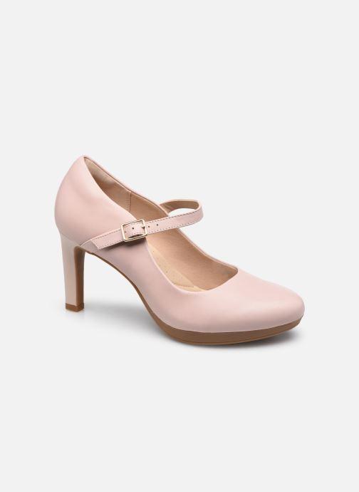 Pumps Clarks Ambyr Shine rosa detaillierte ansicht/modell