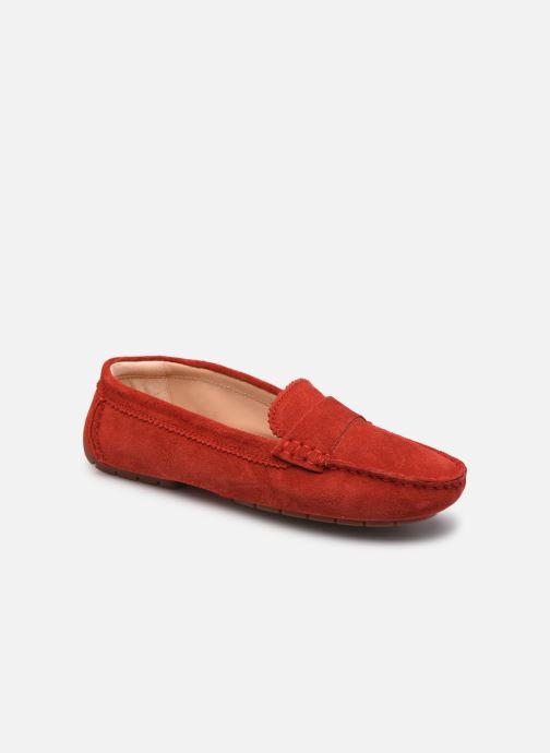 Mocasines Clarks C Mocc2 Rojo vista de detalle / par