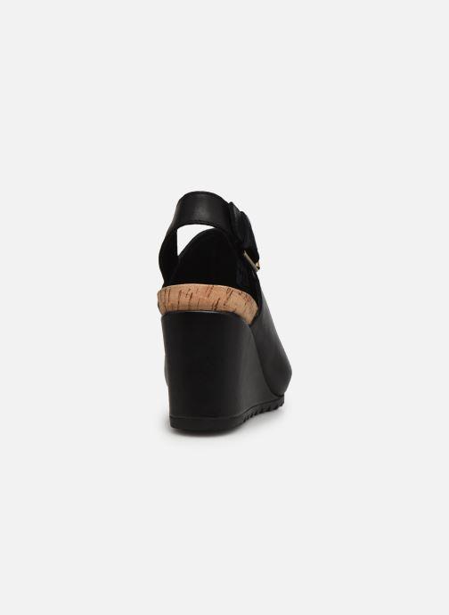 Sandalen Clarks Flex Stitch schwarz ansicht von rechts