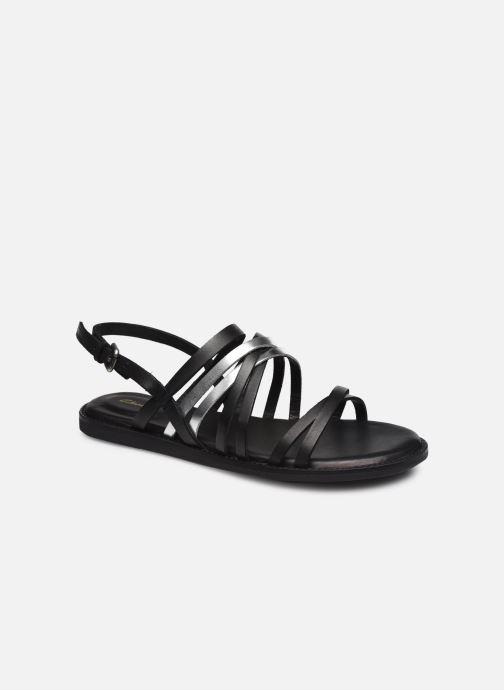 Sandales et nu-pieds Clarks Karsea Ankle Noir vue détail/paire