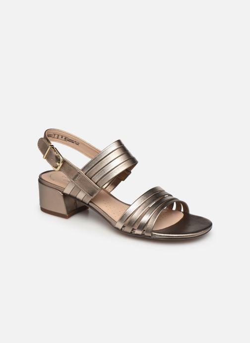 Sandales et nu-pieds Clarks Caroleigh Bess Argent vue détail/paire