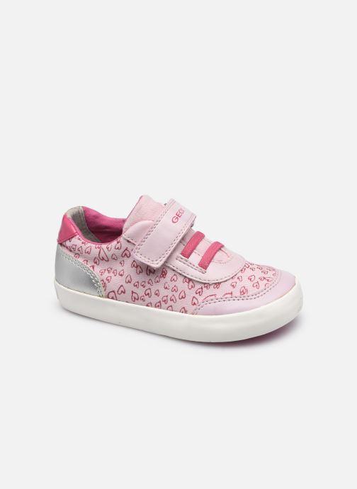 Sneaker Geox B Gisli Girl B021MA rosa detaillierte ansicht/modell