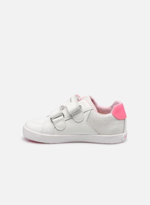 Sneaker Geox B Kilwi Girl B15D5A weiß ansicht von vorne