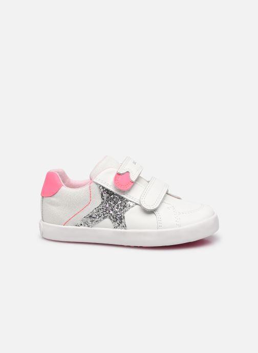 Sneaker Geox B Kilwi Girl B15D5A weiß ansicht von hinten