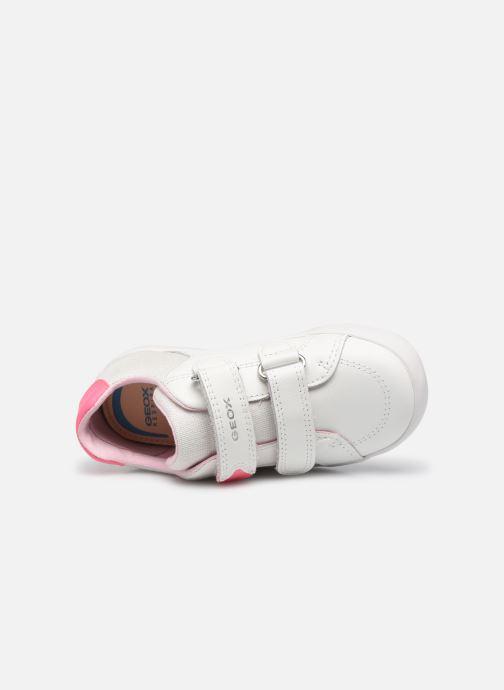 Sneaker Geox B Kilwi Girl B15D5A weiß ansicht von links