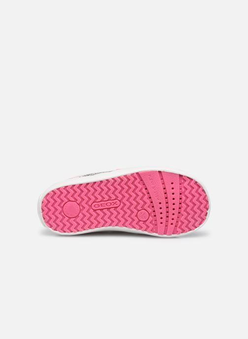 Sneaker Geox B Kilwi Girl B15D5A weiß ansicht von oben