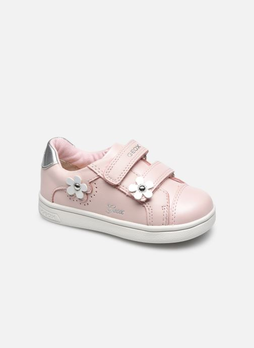 Sneaker Geox B Djrock Girl B151WC rosa detaillierte ansicht/modell