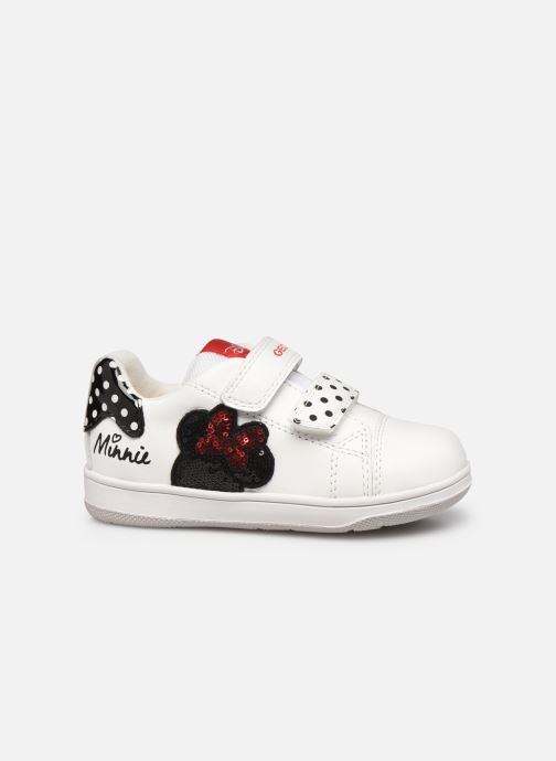 Sneaker Geox B New Flick Girl B151HA x Minnie weiß ansicht von hinten