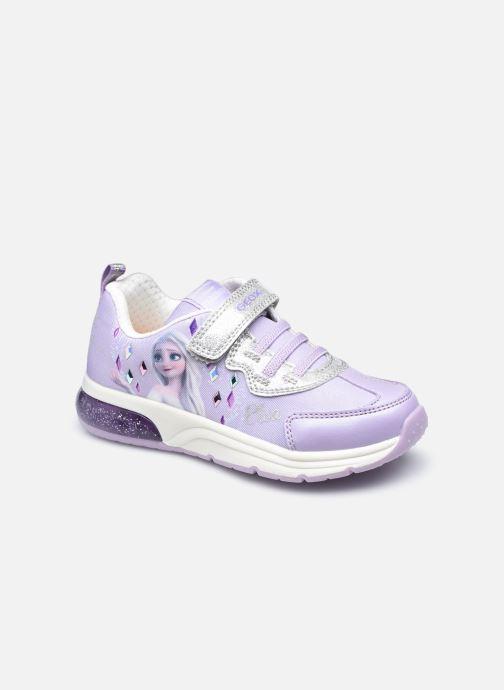 Sneaker Geox J Spaceclub Girl J158VB lila detaillierte ansicht/modell