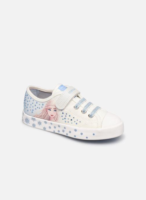 Sneakers Geox Jr Ciak Girl J1504A Wit detail