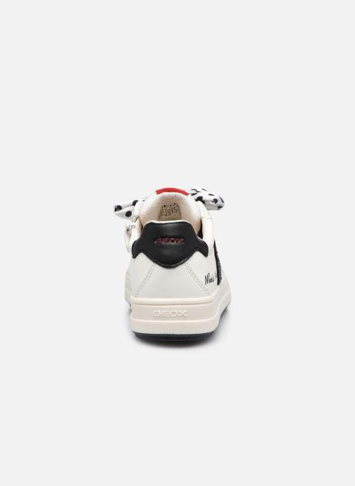 Sneakers Geox J Rebecca Girl J04BDB Bianco immagine destra