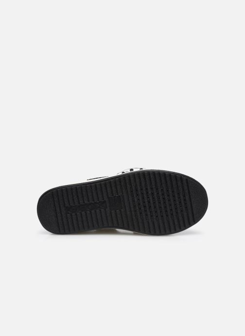 Sneakers Geox J Rebecca Girl J04BDB Bianco immagine dall'alto