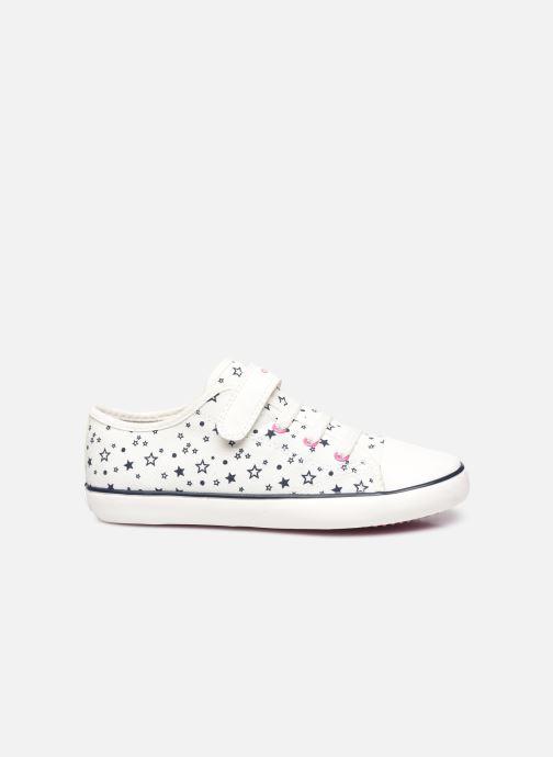 Sneakers Geox J Gisli Girl J154NE Bianco immagine posteriore